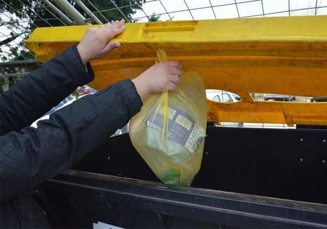 Reciclăm împreună! RER Vest îi îndeamnă pe orădeni să colecteze selectiv deşeurile