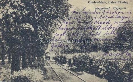 Oradea ieri, Oradea azi: Povestea Parcului Rhédey