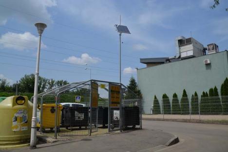 Ţarcuri 'deconectate': 33 de ţarcuri pentru deşeuri au fost prădate de hoţi în Oradea