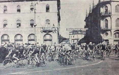 Oradea ieri, Oradea azi: Tururile cicliste