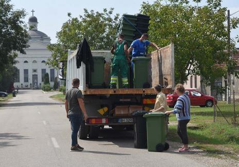 Pentru un viitor curat! RER Vest îi învaţă pe bihoreni să colecteze selectiv deşeurile
