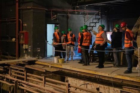 Teatru în șantier: În ce stadiu se află lucrările și cum va arăta la final scena rotativă a Teatrului de Stat Oradea (FOTO / VIDEO)
