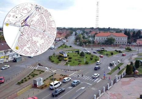 Să tragem linie! Lucrările pentru reamenajarea liniei de tramvai vor bloca cel puţin o lună circulaţia prin Calea Aradului (FOTO)