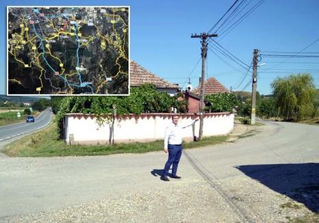 Drum fără prioritate! Primăria Oradea şi cea din Sînmartin nu se înţeleg pentru un drum nou