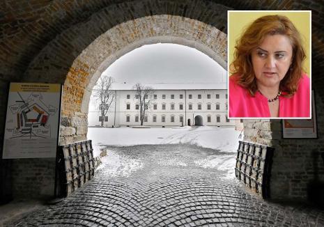 DNA să vină să o ia! Terorizaţi, muzeografii Cetăţii Oradea au denunţat-o pe directoarea Angela Lupşea procurorilor anticorupţie