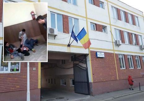 Şcoala bătăilor. Violenţele se ţin lanţ la Liceul Bariţiu: ajutat de doi amici, un elev băut a bătut trei colegi (VIDEO)