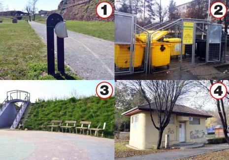 Pradă vandalilor! Parcurile au ajuns la voia huliganilor pentru că Primăria Oradea face economii cu paza (FOTO)