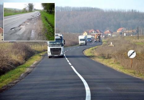 Drum întins: Repararea DN 76 a 'scurtat' drumul de trei ore dintre Oradea şi Beiuş la mai puţin de una, pentru prima oară în ultimii 5 ani