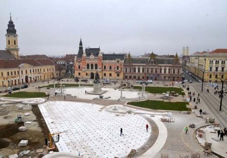 Urma scapă turma! Întârziată cu proiectele, Primăria Oradea plăteşte în 4 zile cât în tot anul 2014