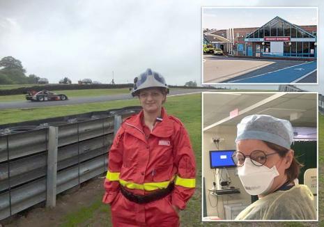 Urgentista din Anglia: Povestea unei doctoriţe orădence aflată în linia întâi în Marea Britanie (FOTO / VIDEO)
