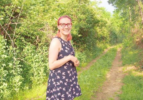 Voluntar de profesie: Georgeta Szabo, una dintre cele mai active voluntare din Oradea, îi învaţă pe copii să respecte natura
