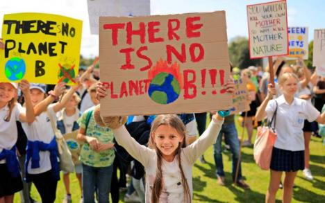 Planeta în grevă: protest împotriva schimbărilor climatice