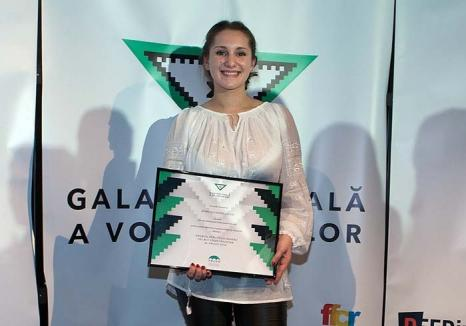 Campioana bunătăţii: Orădeanca Ioana Dziţac este cel mai popular voluntar al ţării