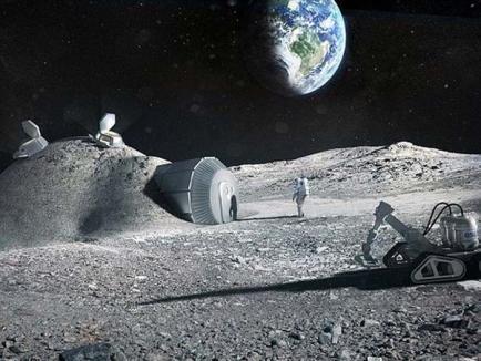 Până în 2030, oamenii ar putea locui pe Lună