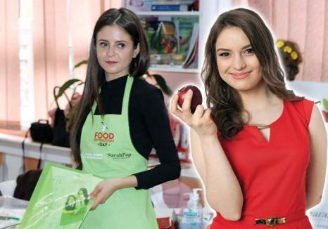 Profesoare de viaţă lungă! După modelul celebrului bucătar Jamie Oliver, două tinere îi învaţă pe orădeni cum să mănânce sănătos