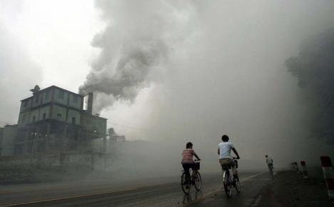 87% din populaţia lumii respiră aer toxic