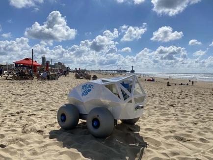 Curăţenie inteligentă: Robotul care adună mucurile de țigară cu ajutorul inteligenței artificiale