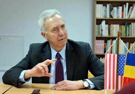 Ambasadorul SUA, Hans Klemm, impresionat de Oradea: 'Vreau să înţeleg această parte înfloritoare a României'