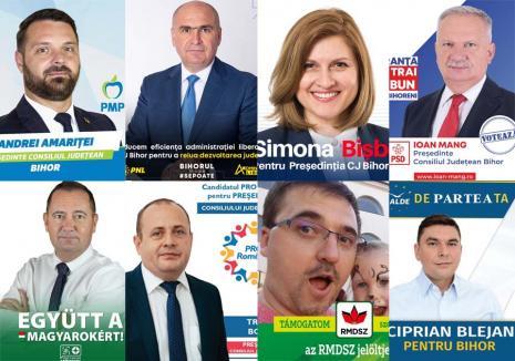 Opt pe-un loc: În prag de alegeri, BIHOREANUL vă oferă proiectele candidaților la conducerea Consiliului Județean