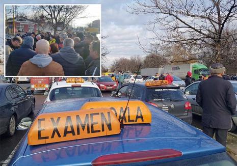 Stop bulucelii! La semnalul BIHOREANULUI, Prefectura pune capăt haosului de la examenele auto din Oradea