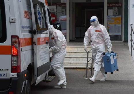 Atenţie, cad medicii! Peste 300 de cadre medicale infectate cu Covid-19, la Spitalul Judeţean şi cel Municipal din Oradea