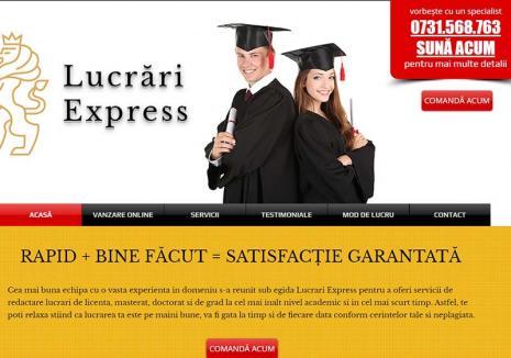 Afacerea 'Licenţa': Mulţi studenţi orădeni îşi obţin diplomele prin fraudă, cu lucrări cumpărate prin internet