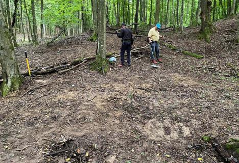 Sorban barbarul: Primarul din Lugaşu de jos a 'îngropat' vestigiile unei aşezări dacice (FOTO)