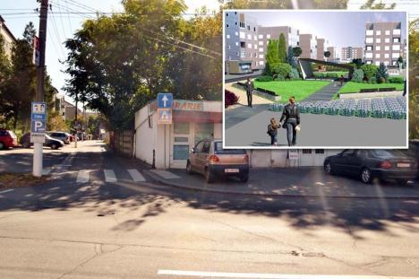 'Nu plecăm!' Proprietarii caselor rămase între blocurile din strada Slatinei se opun exproprierii (FOTO)