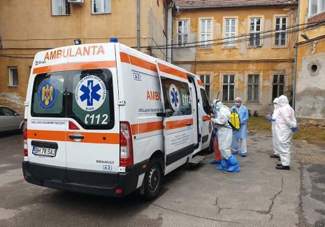 Jale în spitale: Criza Covid se adânceşte în judeţul Bihor, spitalele se apropie de limita rezistenţei