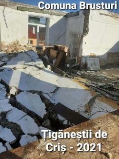 Reabilitare prin demolare: Cum a făcut praf Primăria Brusturi banii dați de Guvern pentru reabilitarea unei școli (FOTO)