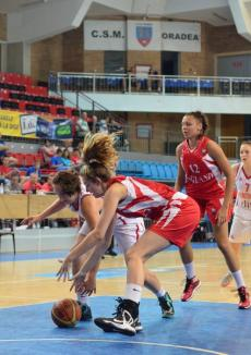Campionatul European de baschet feminin U18 de la Oradea, în faţa semifinalelor (FOTO)