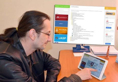 Leac pentru chiulit: Psihologul orădean Răzvan T. Coloja a creat, voluntar, un site cu studii, cărți și filme pentru studenți