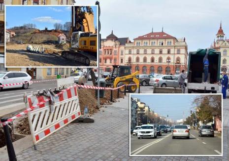 Oradea în şantier: Începând de săptămâna viitoare, traficul rutier va fi dat peste cap de un val de lucrări fără precedent (FOTO / VIDEO)