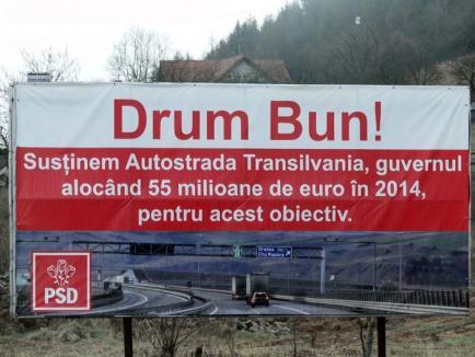 Autostrada minciunilor: În Bihor, lucrările la autostradă vor costa mai mult şi vor fi gata tot la Sfântu-Aşteaptă!