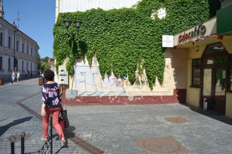 Oradea fircălită: În ciuda ambiţiilor turistice, oraşul s-a umplut cu mâzgălituri ce-i dau un aspect de ghetou (FOTO)