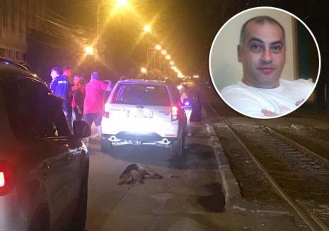 Un om şi-un câine… Şoferul care a târât un câine legat de maşină prin oraş se simte nedreptăţit şi păgubit (VIDEO)