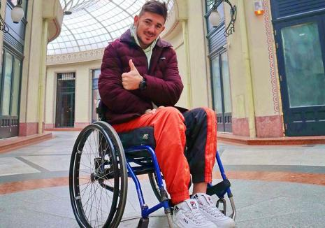 Suflet de campion: Să-l ajutăm pe Florin, băiatul țintuit în scaunul cu rotile care vrea să concureze pentru România! (FOTO / VIDEO)