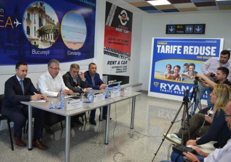Zbor în ceaţă: Şefii Judeţului şi cei ai Aeroportului Oradea se ţin de contracte secrete cu operatorii aerieni