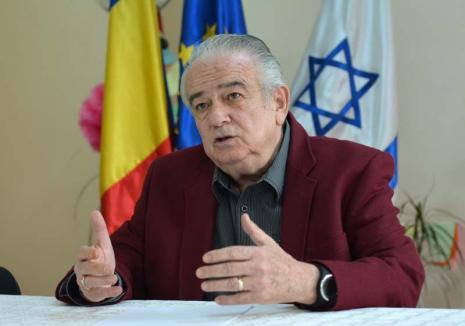 Interviu cu Felix Koppelmann, preşedintele Comunităţii Evreilor: 'În Oradea, antisemitismul este istorie'