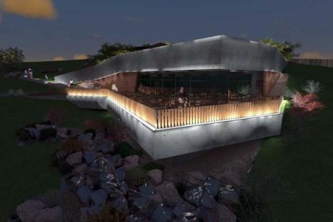 Greu la deal! Proiectul grădinii publice de pe Dealul Ciuperca s-a schimbat fundamental faţă de cel iniţial