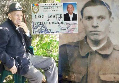 Războiul lui nea Nadiş: Un veteran care aluptat pentru eliberarea Oradiei e 'răsplătit' lunar cu 400 de lei