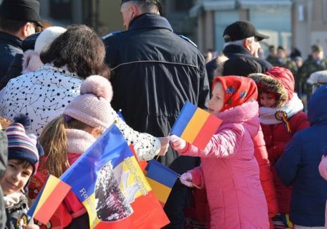 La mulţi ani, România! Vezi programul manifestărilor de 1 Decembrie la Oradea!