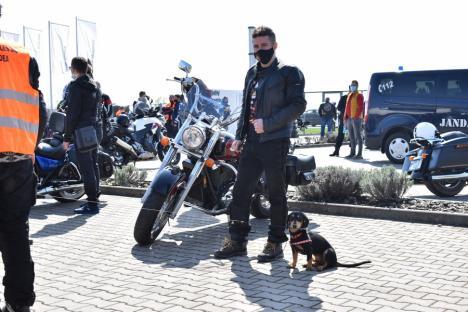 Asfalt uscat! După o pauză de un an, peste 200 de motociclişti au mărşăluit prin Oradea (FOTO / VIDEO)