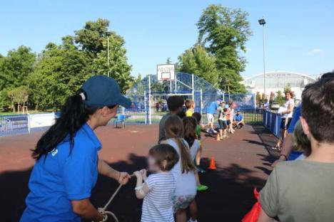 Ziua Copilului, 1 Iunie, sărbătorită de Compania de Apă Oradea (FOTO)