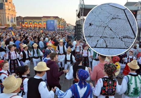 Prinşi între ziduri: Toamna Orădeană a demonstrat că Cetatea este prea înghesuită pentru evenimente de asemenea amploare (FOTO)