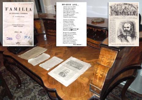 Familia noastră: Povestea revistei Familia, una dintre cele mai prestigioase publicaţii literare din spaţiul românesc, născută la Oradea (FOTO)