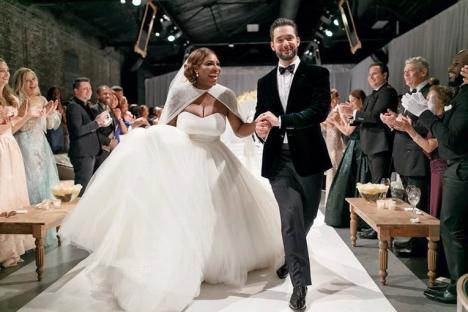 Cum a arătat Serena Williams în rochie de mireasă (FOTO)