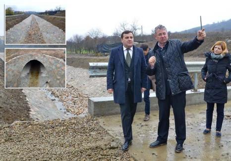 Lucrări fără cusur: Firma Repcon a terminat în timp record lucrările de amenajare a pârâurilor Pasteur şi Cosmo
