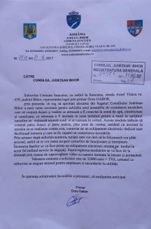 Sebastian Lascu insistă ca proiectul 'Igiena peisajului' să fie supus votului CJ și cere demisia şefului AMD Bihor, fiindcă face 'poliţie politică' (VIDEO)