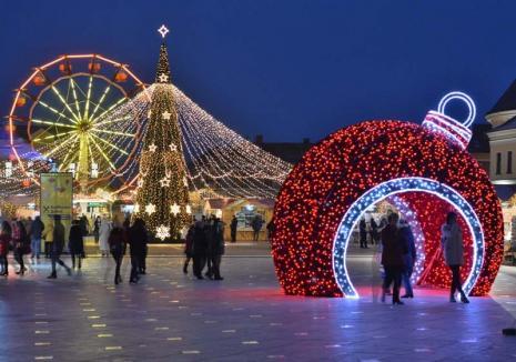 Vine Crăciunul! Urmează o săptămână plină de magie la Oradea: Bărbierul din Sevilla, concerte Phoenix, Fuego şi Inna